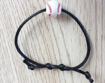 10 Baseball - Softball Friendship Bracelet Party Favors.