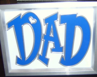 Dad with heart