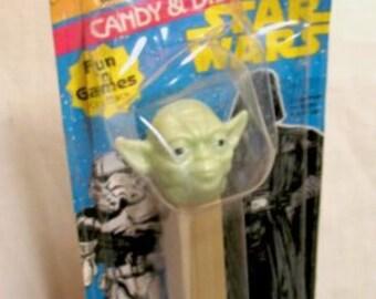 Star Wars Yoda Pez