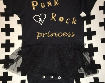 Punk Rock Princess Tutu Onesie