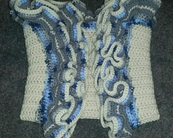 Hand Made Corcheted Baby Blanket
