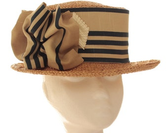 Sraw Boater hat