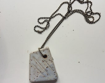 Flake 1 - Batch 1 - Ceramic Necklaces