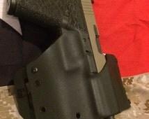 TF#2 OWB G17/G19 saddle style holster