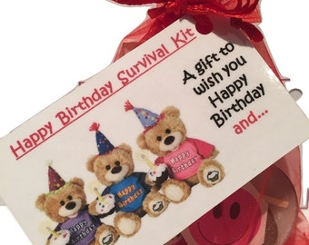Happy Birthday Survival Kit