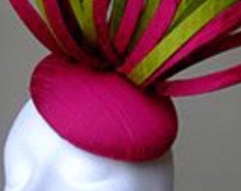 Any colour sinamay swirl fascinator