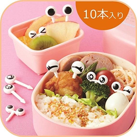 Comida de diseo bento ojos pick blanconegro juego de 10 de vendido por japanhappytime urtaz Choice Image
