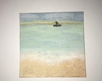 Mini painting beach