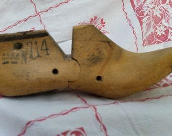 Vintage Vulcan Wooden Shoe Form