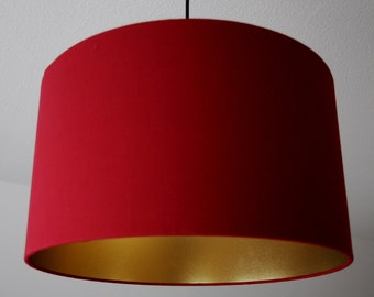 "Lampshade ""Wine-red-gold"""