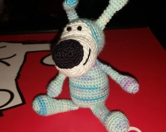 Crocheted Buffy the Dog
