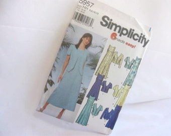 Sewing Pattern Simplicity 5957 Sleeveless Dress and Matching Jacket