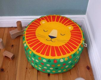 Seat cushions / floor cushions / beanbag lion bio