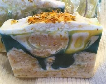 Calendula, Ylang Ylang & Lime Scented Soap