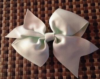 Mint Bow Clip