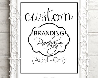 Small Business Branding Package Add - On - Everything For Your Small Business: Social Media Banners, Business Card, etc...