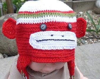 Hat, baby hats, crochet beanie baby, baby hat, baby photo Cap-motif Hat
