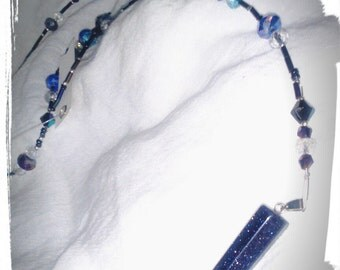 Blue Firestone Pendant