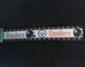 Steelers keyfob keychain wristlet