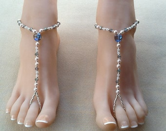 Queen Of Hearts Barefoot Sandal