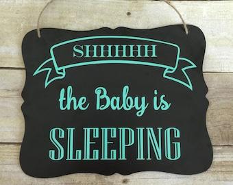 Baby is Sleeping Door Hanger/Sign