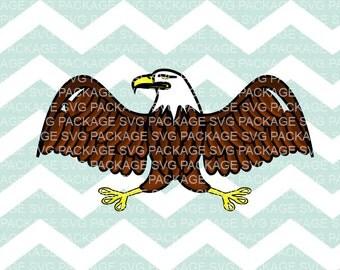 SVG Clipart, Eagle, Bird, Animal Clipart, Eagle Svg Clipart Png, Svg Cutting File, png, Bird clipart, usa png, usa clipart, animal svg png