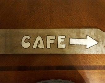 Kitchen Signs/Cafe Barnwood Sign