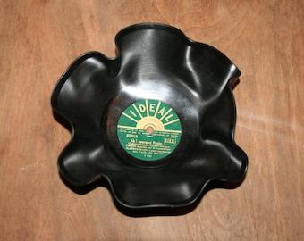 Recycled vinyl