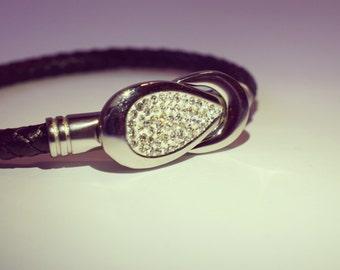 Crystal link Bracelet/Wristband
