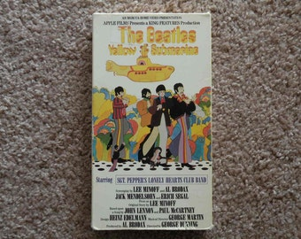 The Beatles Yellow Submarine [VHS-1987]