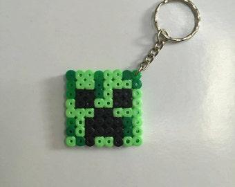 Minecraft Creeper Keyring
