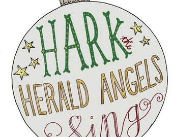 Christmas Card: Hark the Herald Angels Sing