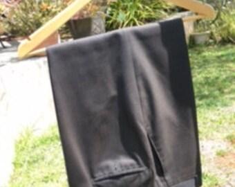 Dark grey vintage mens suit