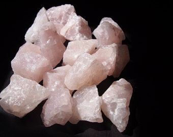 Rough Pink Rose Quartz