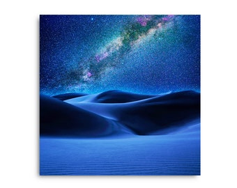 Sand Dunes Starry Night HD Canvas