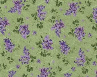 Fresh Lilac on Green,Maywood Studio