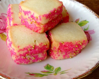 Pink Tourmaline Jewel Classic Shortbread Cookies