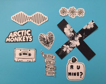 Arctic Monkeys Sticker Pack
