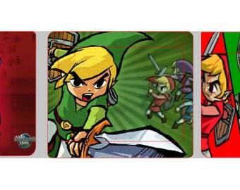 Gameboy Advance skin Zelda/Pokemon collection