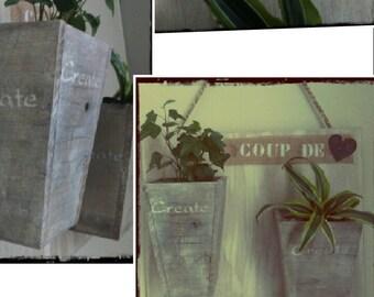 Door wall plants