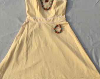 Bright Yellow Sun dress