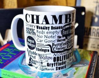 Harry Potter & the CHAMBER of Secrets Story Mug (Title Series)