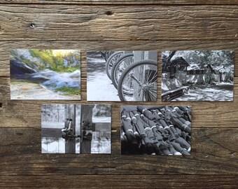 Tassajara photocards - set 4