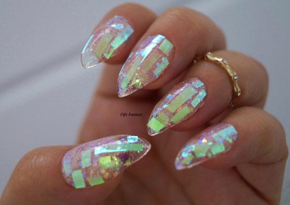 Shattered glass nails nail designs nail art nails stiletto shattered glass nails nail designs nail art nails stiletto nails false nails acrylic nails pointy nails fake nails press on nails prinsesfo Choice Image