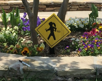Flowerbed sign