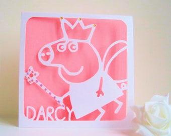 Peppa Pig Birthday Card Peppa Pig