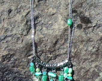 Beach Waterfall Necklace