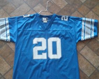 VintageYouth Puma Detroit Lions Barry Sanders Jersey Xl