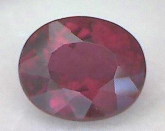 Gorgeous Deep Red 2.55ct Tourmaline-Rubellite A58