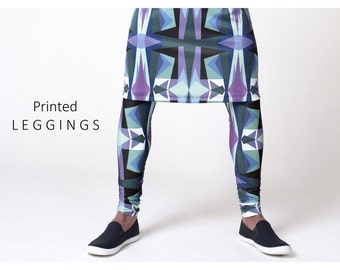 All over print Leggings for men
